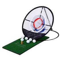 New Indoor Outdoor Chipping Pitching Cages Mats Practice Easy Net Golf T... - $30.12