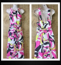 NEW Muse Apparel Sleeveless Halter Maxi Dress Sz 10 Sold Out In Stores H... - $30.68