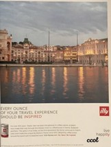 PRINT AD For Illy Coffee Cafe Live Happilly  Tr... - $3.25