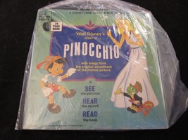 Disneyland Follow Along Record & Book    Pinocchio - $7.70