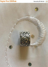 Genuine Pandora Sterling Silver Layers of Lace Clip Charm Bead 791758  - $33.96
