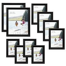 MCS 10pc Multi Pack Picture Frame Value Set - Two 8x10 in, Four 5x7 in, ... - $35.93