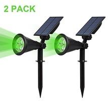 T-SUN Solar Spotlights LED Outdoor Wall Light, IP65 Waterproof, Auto-on ... - €32,97 EUR