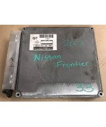 ECM ECU Engine Computer 2003 Nissan Frontier 3.3   MEC04-600 - $111.00