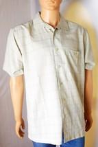Hudson River Heritage Classics Men's Shirt #1121552 Size L - Beige Polye... - $14.01