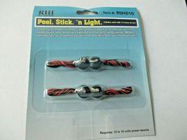 "Atlas  # Rock Island Hobby # RIH510 Peel. Stick. ""n Light 4 Bulbs each 11"" wire image 4"