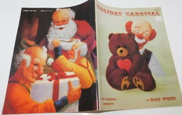 Holiday Carnival DON WEED Vintage Tole Painting Book Clowns, Christmas - $13.85