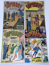Lot of 4 Superboy (1949-1979 1st Series DC) #91 97 104 Annual 1 - $59.40