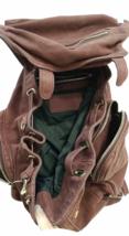 ALEXANDER WANG Marti Lambskin Leather Backpack Rare Burgundy Purse Bag image 4