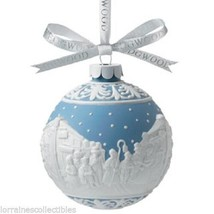 Wedgwood  Carolers Christmas Japserware Ornament  & CHRISTMAS HAPPY NEW ... - $79.19