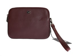 DOLCE & GABBANA Mens Brown Bag Clutch Wristlet Bordeaux Caiman Organizer... - $513.12