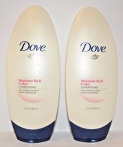2 DOVE Moisture Rich Color Conditioner12 FL OZ. (355 ml) New - $18.99