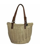 NWT The Sak Crochet Alpine Tote Bag - Alpine - $42.56