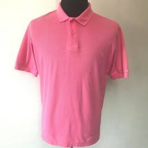 Vintage 1980s Levis Pink Polo Style Shirt Mens size XL Short Sleeve Kore... - $22.95