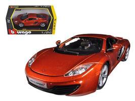 Mclaren MP4-12C Metallic 1:24 Diecast Car Model by Bburago - $37.46