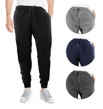 Men's Casual Jogger Pants Soft Slim Fit Fitness Gym Sport  Workout Sweatpants