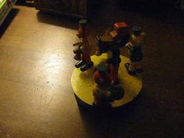 Vintage 60's Big Bad Wolf & 3 Little Pigs Music Box - $50.00