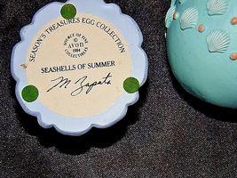 Season's Treasures Egg Collection 1994 Seashells of Summer M Zapata AA18-1356 Vi image 4