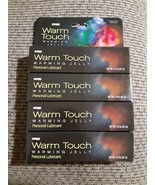 4x Warm Touch Personal Lubricant Warming Jelly 2 oz ea. Tubes Compare to... - $15.83