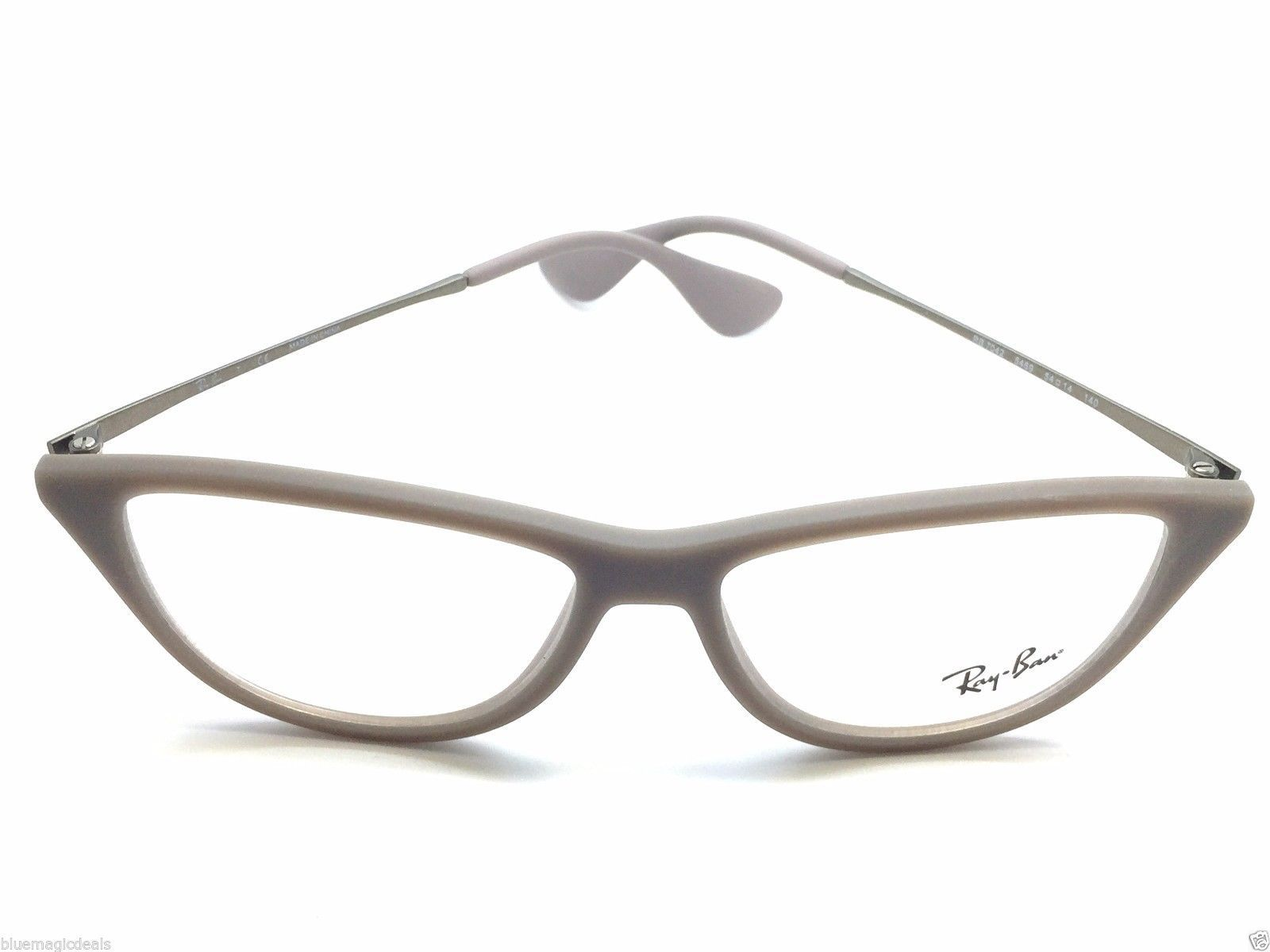 ea0d239376 New Authentic Ray Ban taupe 7042 eyeglasses 5469 grey 52-14-140 1181