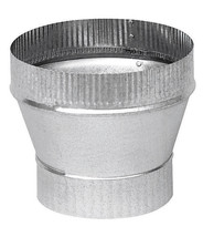 "New!! Imperial 5"" Dia. x 6"" Dia. Galvanized Steel Stove Pipe Increaser GV1358 - $13.64"