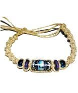 """3 NEW Alien UFO 12"""" Hemp Bracelets Anklets wrist jewelry - $9.99"""