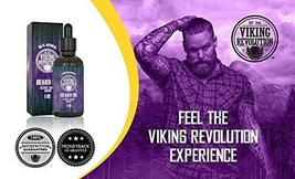 Beard Oil Conditioner - All Natural Clary Sage Scent with Organic Argan & Jojoba image 2