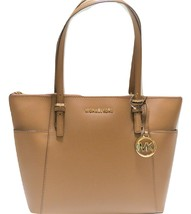 Michael Kors tan  leather Tote Handbag Brand New - $350.00