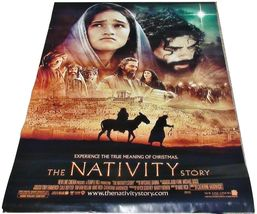 "2006 THE NATIVITY STORY Original Movie Theater Poster Banner 48x70 3"" Te... - $59.99"