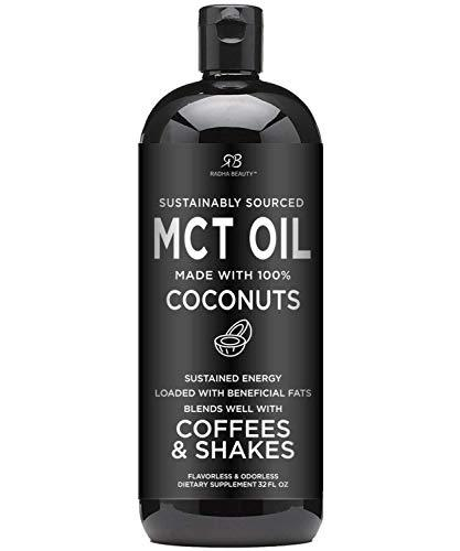 Primary image for Premium MCT Oil Made only from Coconuts - 32oz BPA Free Bottle. Keto, Paleo, Glu