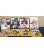 Lot Of 8 PS3 and Xbox 360 Sports Games, NHL, Madden NFL, NCAA - $19.80