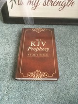 The KJV Prophecy Study Bible (King James Bible) (Hardcover) RED LETTER - $16.75