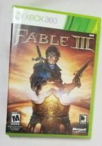 Fable 3 III (Microsoft Xbox 360, 2010) Tested - $9.89