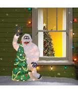 Complete Rudolph Red Nose Reindeer Tinsel Pre Lit Christmas Yard Choose ... - $74.13+