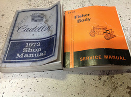 1973 GM Cadillac Deville Seville Fleetwood Eldorado Service Shop Manual ... - $34.60
