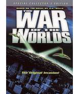 The War of the Worlds (1952) DVD - $8.95