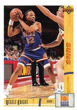 1991-92 Upper Deck #193 Negele Knight RC Rookie Card > Phoenix Suns  - $0.99