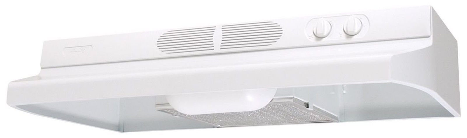Air King AV1213 Advantage Convertible Under Cabinet Range Hood With 2 Speed  B..