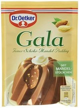 Dr.Oetker GALA Fine Chocolate Almond pudding -Pack of 2 -FREE SHIPPING - $8.90