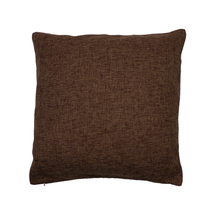 Ultra Gunjo Decorative Linen Cushion Covers, 18x18 inch, Brown, 1 Pack - £12.20 GBP