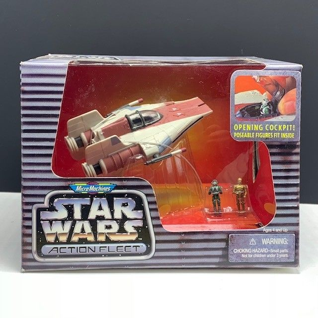 Star Wars Action Fleet Micro Machines Galoob 1995 Figures for Playsets Vehicles