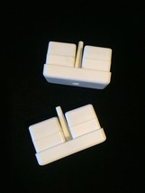 White Cube Salt/Pepper shakers - Delta Airlines First Class meal service image 5