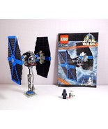 LEGO Star Wars Episode IV-VI TIE Fighter (7146) Complete Set with 2 Mini... - $53.36