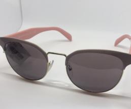 Prada SPR 61T VIA-6X1 Pink/Gold New Authentic Sunglasses 54mm $340 w/case in box - $159.00