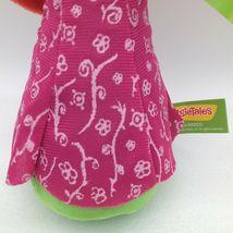 "Enesco Veggietales Petunia Rhubarb Plush Doll Toy 11"" Tall Super Soft Veggie image 7"