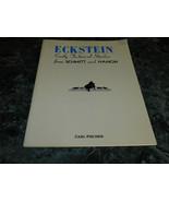 Eckstein Early Technical Studies from Schmitt and Hanon  - $8.99