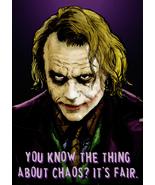 The Joker Says - Art Print/Poster - $24.99+