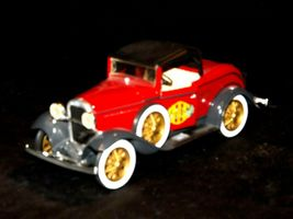 ERTL 1930 Ford Model A Convertible Roadster Bank AA19-1629 Vintage #208 image 9