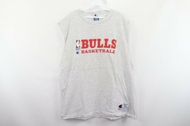 Vintage 90s Champion Mens XL Chicago Bulls Basketball Spell Out Tank Top... - $39.55