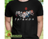 Halloween Shirt Monsters Of Modern Horror Friends Unisex T-shirt Chucky Jason